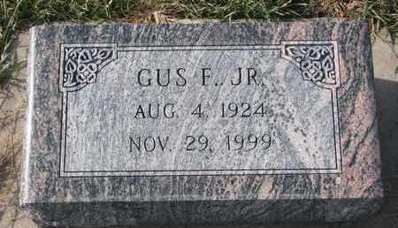 LUESHEN, GUS F. JR. - Cuming County, Nebraska   GUS F. JR. LUESHEN - Nebraska Gravestone Photos