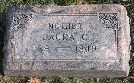 LUESHEN, LAURA C. - Cuming County, Nebraska | LAURA C. LUESHEN - Nebraska Gravestone Photos