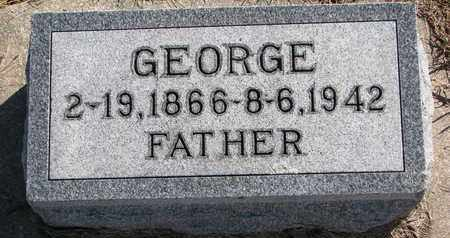 LUTHER, GEORGE - Cuming County, Nebraska   GEORGE LUTHER - Nebraska Gravestone Photos