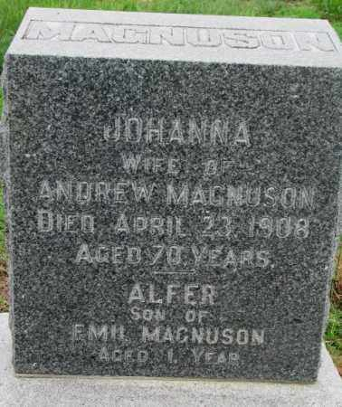 MAGNUSON, ALFER - Cuming County, Nebraska | ALFER MAGNUSON - Nebraska Gravestone Photos