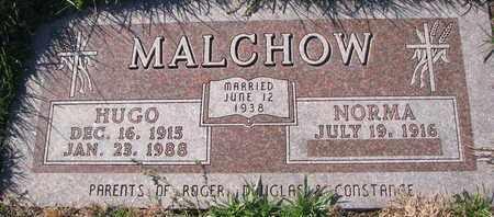 MALCHOW, NORMA - Cuming County, Nebraska | NORMA MALCHOW - Nebraska Gravestone Photos