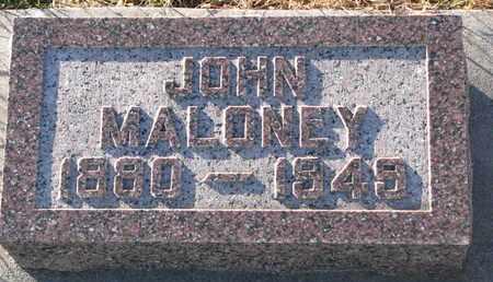 MALONEY, JOHN - Cuming County, Nebraska   JOHN MALONEY - Nebraska Gravestone Photos