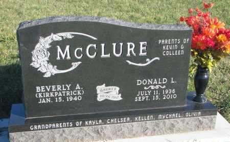 MCCLURE, BEVERLY A. - Cuming County, Nebraska | BEVERLY A. MCCLURE - Nebraska Gravestone Photos