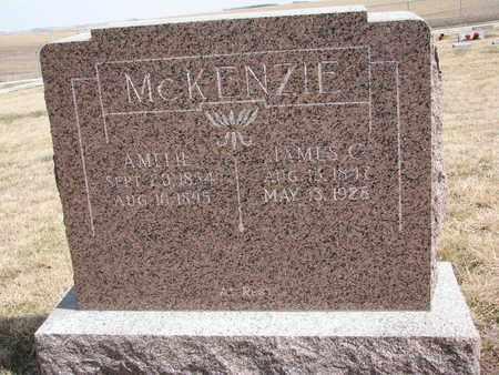 MCKENZIE, JAMES C - Cuming County, Nebraska | JAMES C MCKENZIE - Nebraska Gravestone Photos