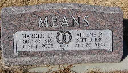 MEANS, ARLENE R. - Cuming County, Nebraska | ARLENE R. MEANS - Nebraska Gravestone Photos