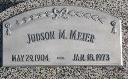MEIER, JUDSON M. - Cuming County, Nebraska   JUDSON M. MEIER - Nebraska Gravestone Photos