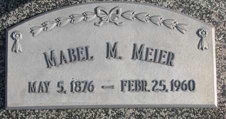 MEIER, MABEL M. - Cuming County, Nebraska | MABEL M. MEIER - Nebraska Gravestone Photos