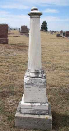 MELCHER, AUGUST - Cuming County, Nebraska | AUGUST MELCHER - Nebraska Gravestone Photos