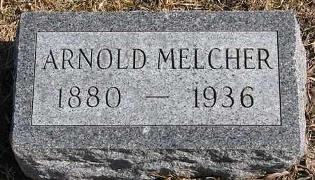 MELCHER, ARNOLD - Cuming County, Nebraska   ARNOLD MELCHER - Nebraska Gravestone Photos