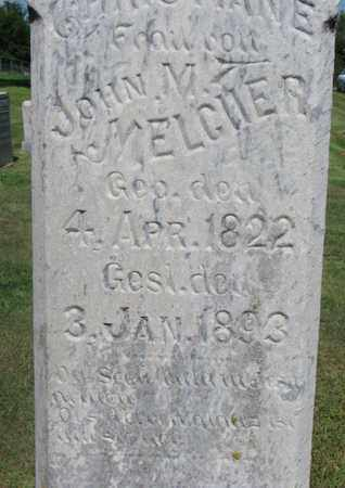 MELCHER, CHRISTIANE (CLOSE UP) - Cuming County, Nebraska | CHRISTIANE (CLOSE UP) MELCHER - Nebraska Gravestone Photos