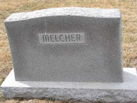 MELCHER, (FAMILY MONUMENT) - Cuming County, Nebraska | (FAMILY MONUMENT) MELCHER - Nebraska Gravestone Photos