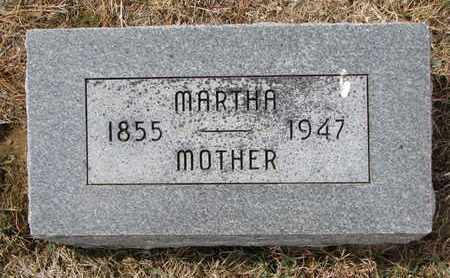 MELCHER, MARTHA - Cuming County, Nebraska | MARTHA MELCHER - Nebraska Gravestone Photos