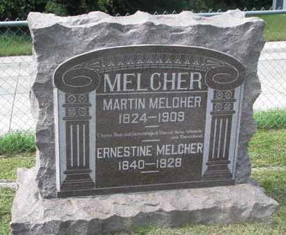 MELCHER, MARTIN (#1) - Cuming County, Nebraska   MARTIN (#1) MELCHER - Nebraska Gravestone Photos