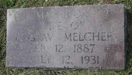 MELCHER, MATHILDA #2 - Cuming County, Nebraska | MATHILDA #2 MELCHER - Nebraska Gravestone Photos