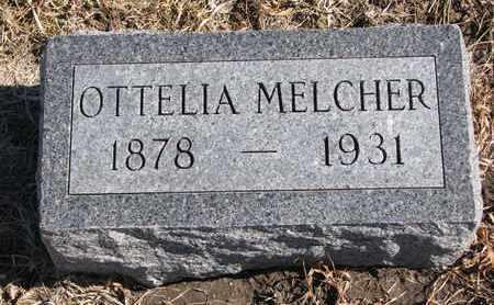 MELCHER, OTTELIA - Cuming County, Nebraska | OTTELIA MELCHER - Nebraska Gravestone Photos