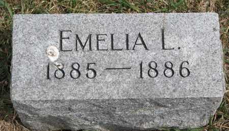 MEWIS, EMELIA L. - Cuming County, Nebraska | EMELIA L. MEWIS - Nebraska Gravestone Photos