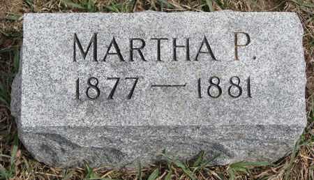MEWIS, MARTHA P. - Cuming County, Nebraska   MARTHA P. MEWIS - Nebraska Gravestone Photos