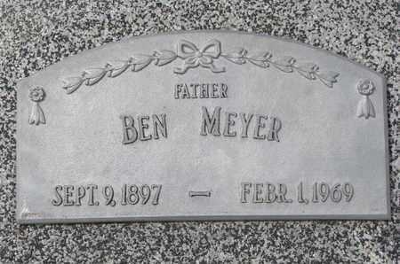 MEYER, BEN - Cuming County, Nebraska   BEN MEYER - Nebraska Gravestone Photos