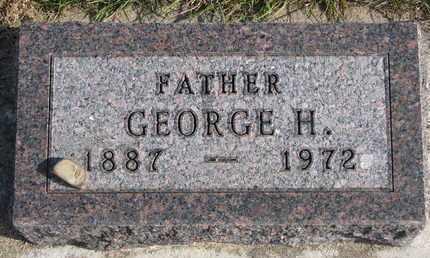 MEYER, GEORGE H. - Cuming County, Nebraska | GEORGE H. MEYER - Nebraska Gravestone Photos