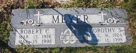 MEYER, DOROTHY S. - Cuming County, Nebraska   DOROTHY S. MEYER - Nebraska Gravestone Photos