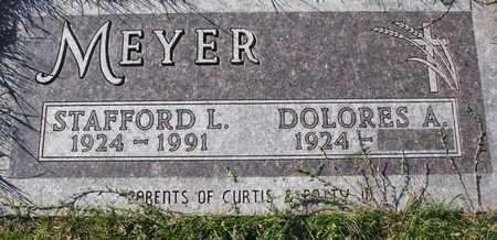 MEYER, STAFFORD L. - Cuming County, Nebraska | STAFFORD L. MEYER - Nebraska Gravestone Photos