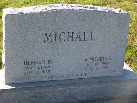 MICHAEL, HERMAN D. - Cuming County, Nebraska   HERMAN D. MICHAEL - Nebraska Gravestone Photos