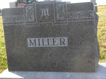 MILLER, (FAMILY MONUMENT) - Cuming County, Nebraska   (FAMILY MONUMENT) MILLER - Nebraska Gravestone Photos
