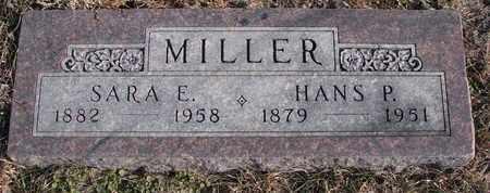 MILLER, HANS P. - Cuming County, Nebraska   HANS P. MILLER - Nebraska Gravestone Photos