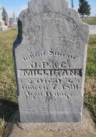 MILLIGAN, INFANT SON - Cuming County, Nebraska   INFANT SON MILLIGAN - Nebraska Gravestone Photos
