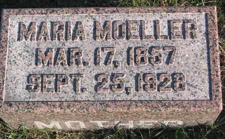 MOELLER, MARIA - Cuming County, Nebraska | MARIA MOELLER - Nebraska Gravestone Photos