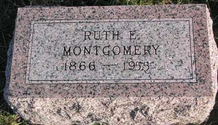 PERKINS MONTGOMERY, RUTH EMILY - Cuming County, Nebraska | RUTH EMILY PERKINS MONTGOMERY - Nebraska Gravestone Photos
