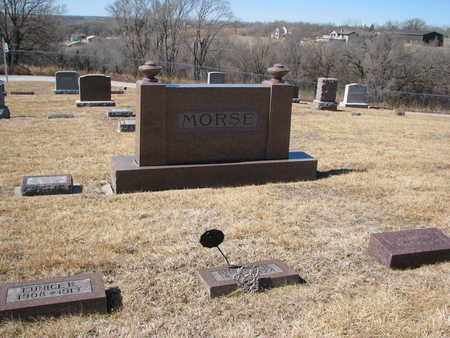 MORSE, (FAMILY PLOT) - Cuming County, Nebraska   (FAMILY PLOT) MORSE - Nebraska Gravestone Photos
