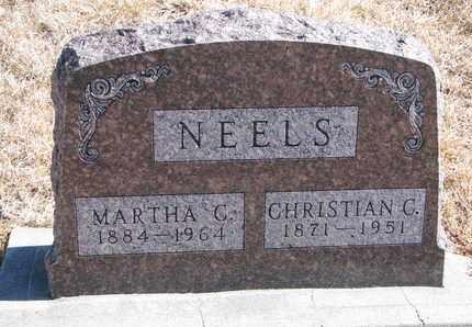 NEELS, CHRISTIAN C. - Cuming County, Nebraska | CHRISTIAN C. NEELS - Nebraska Gravestone Photos