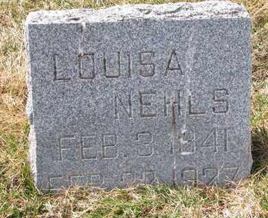 NEHLS, LOUISA - Cuming County, Nebraska   LOUISA NEHLS - Nebraska Gravestone Photos