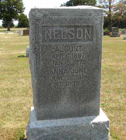 NELSON, ANNA JUNE - Cuming County, Nebraska | ANNA JUNE NELSON - Nebraska Gravestone Photos