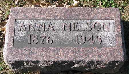 NELSON, ANNA - Cuming County, Nebraska | ANNA NELSON - Nebraska Gravestone Photos