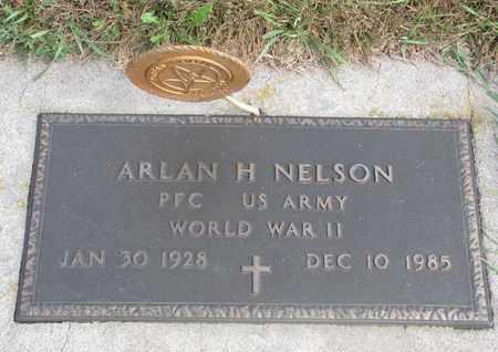 NELSON, ARLAN H. (MILITARY) - Cuming County, Nebraska   ARLAN H. (MILITARY) NELSON - Nebraska Gravestone Photos