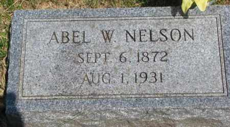 NELSON, ABEL W. - Cuming County, Nebraska | ABEL W. NELSON - Nebraska Gravestone Photos