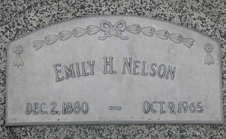 NELSON, EMILY H. - Cuming County, Nebraska | EMILY H. NELSON - Nebraska Gravestone Photos