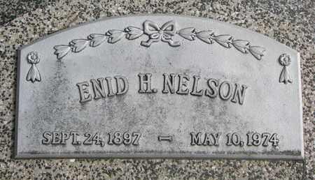 NELSON, ENID H. - Cuming County, Nebraska   ENID H. NELSON - Nebraska Gravestone Photos