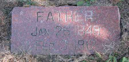 NELSON, FATHER - Cuming County, Nebraska | FATHER NELSON - Nebraska Gravestone Photos