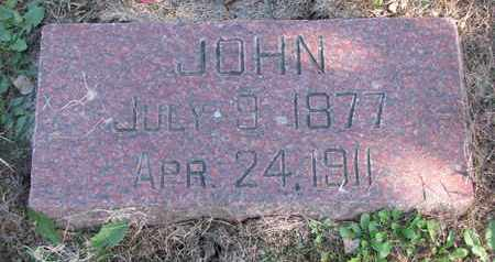 NELSON, JOHN - Cuming County, Nebraska | JOHN NELSON - Nebraska Gravestone Photos