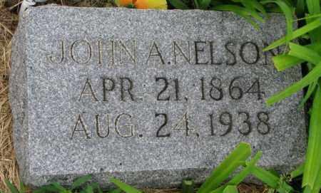 NELSON, JOHN A. - Cuming County, Nebraska | JOHN A. NELSON - Nebraska Gravestone Photos