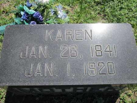NELSON, KAREN - Cuming County, Nebraska | KAREN NELSON - Nebraska Gravestone Photos
