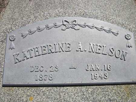 NELSON, KATHERINE A. - Cuming County, Nebraska | KATHERINE A. NELSON - Nebraska Gravestone Photos