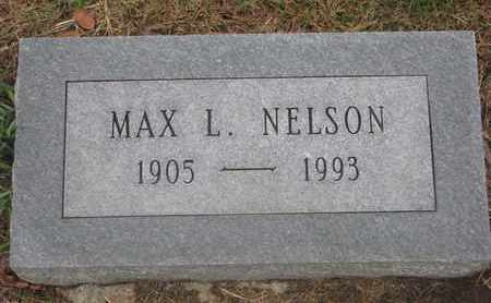 NELSON, MAX L. - Cuming County, Nebraska | MAX L. NELSON - Nebraska Gravestone Photos
