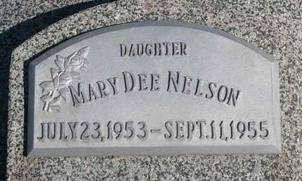 NELSON, MARY DEE - Cuming County, Nebraska | MARY DEE NELSON - Nebraska Gravestone Photos