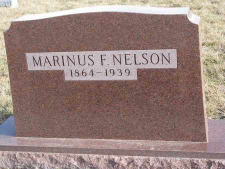 NELSON, MARINUS F. - Cuming County, Nebraska   MARINUS F. NELSON - Nebraska Gravestone Photos