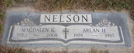 NELSON, ARLAN H. - Cuming County, Nebraska | ARLAN H. NELSON - Nebraska Gravestone Photos