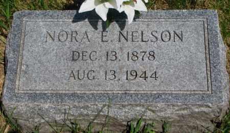 NELSON, NORA E. - Cuming County, Nebraska   NORA E. NELSON - Nebraska Gravestone Photos
